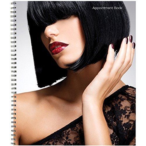 BURMAX Salon Beauty Hair DL PRO 6 Columns Appointment Book BK-DLC200 6 Column Appointment Book