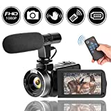 Best Hd Camcorder Under 200s - Full HD Camcorder 1080p Digital Camera 30FPS Video Review