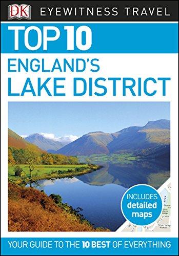 Map Of England Lake District.Top 10 England S Lake District Dk Eyewitness Travel Guide