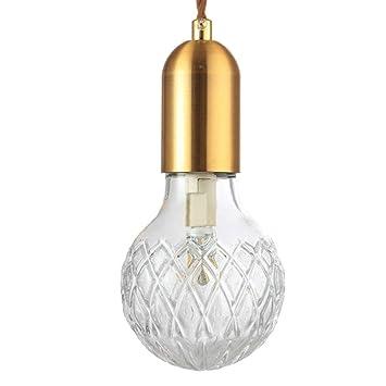 YWMSJD Lámpara de Techo Led Lámparas Modernas de Edison ...