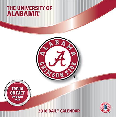 Turner Alabama Crimson Tide 2016 Box Calendar, January-December (8051370)
