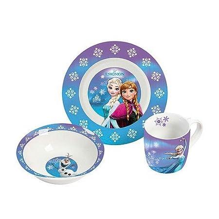 Disney Frozen 12788 Porcelain Set Multi-Coloured 22.5 x 9.5 x 19.5 cm 3 Units  sc 1 st  Amazon UK & Disney Frozen 12788 Porcelain Set Multi-Coloured 22.5 x 9.5 x 19.5 ...