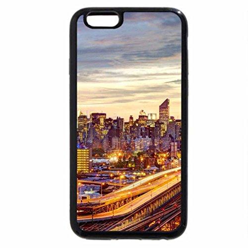 iPhone 6S / iPhone 6 Case (Black) superb queensboro bridge in new york city hdr
