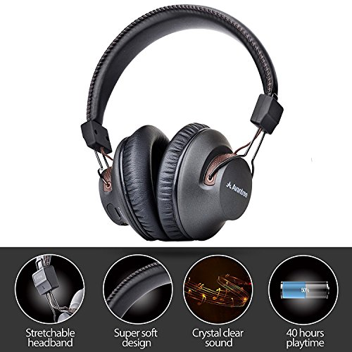 Avantree HT3189 Wireless Headphones for TV Watching & PC