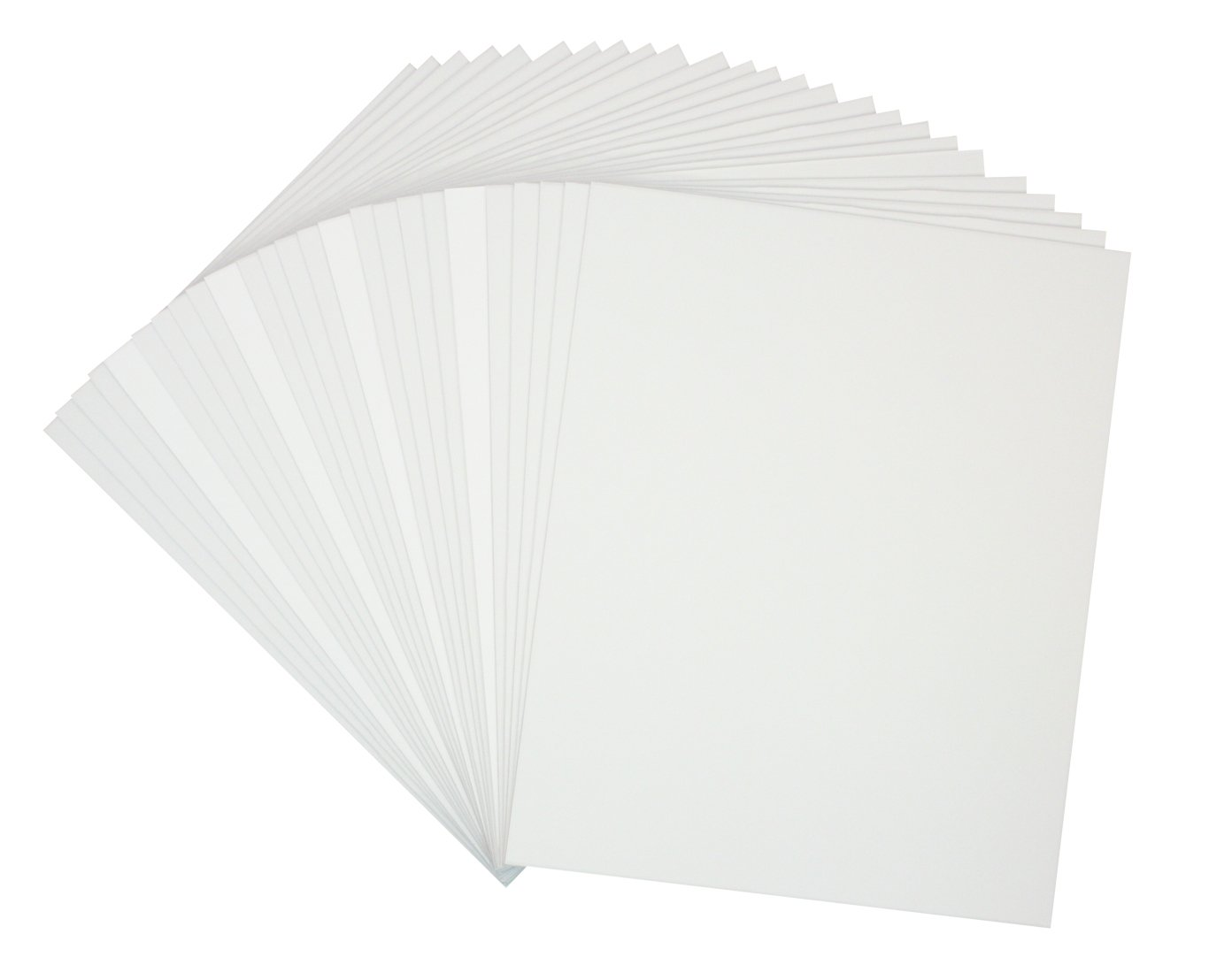Golden State Art, Pack of 25, 8x10 Backerboards for Framing. Pack Contains 25 Backing Boards by Golden State Art