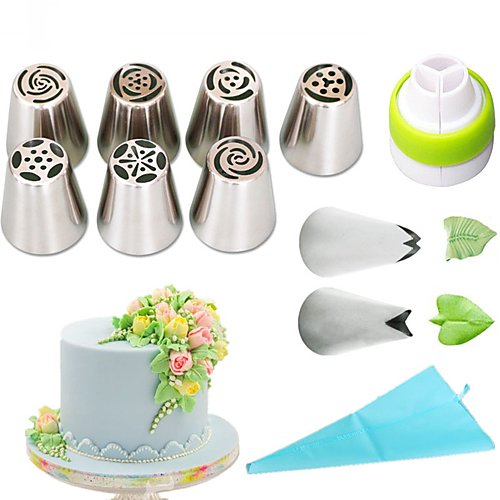 MiniInTheBox Bakeware tools Stainless Steel + A Grade ABS Eco-friendly Everyday Use Cake Molds 1set by MiniInTheBox