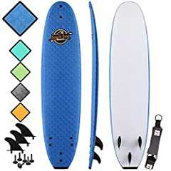 Performance Focused Soft Top Surfboards: All 7' Ruccus, 8' Verve, & 8'8 Heritage Surfboards are custom designed to be beginner friendly, incredibly durable, and very performance focused. Check other boards and you'll find NOBODY offers th...