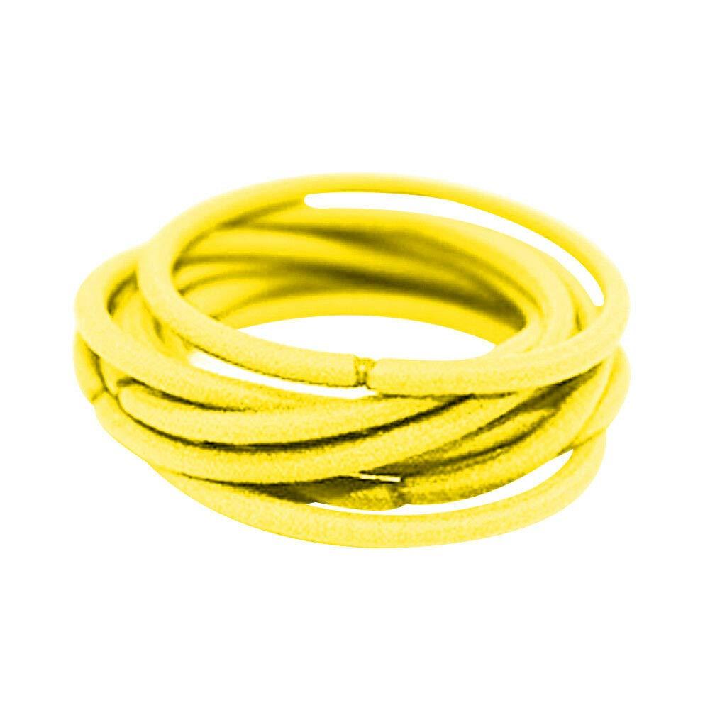 24 Soft Endless Hair Elastics Bobbles Snag Free Ponytail Holder Hair Bands