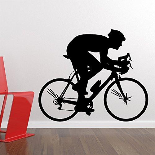 Adesivo de Parede - Ciclista - 010esp