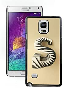 paper letters Black Samsung Note 4 Case,personalized design together with Excellent protection