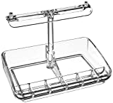 Mind Reader Acrylic 9 Compartment Jewelry Stand