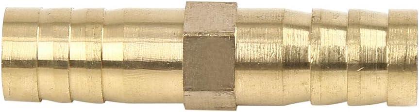 10 mm X AUTOHAUX Adaptador de Conector Recto para Manguera de Gas de Aire