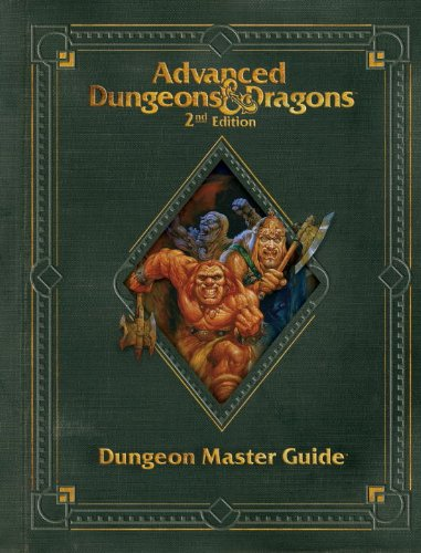 Premium 2nd Edition Advanced Dungeons & Dragons Dungeon Master's Guide (D&D Core Rulebook)