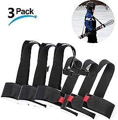 LAWOHO 3 Pack - Shoulder Ski Carrier Str...