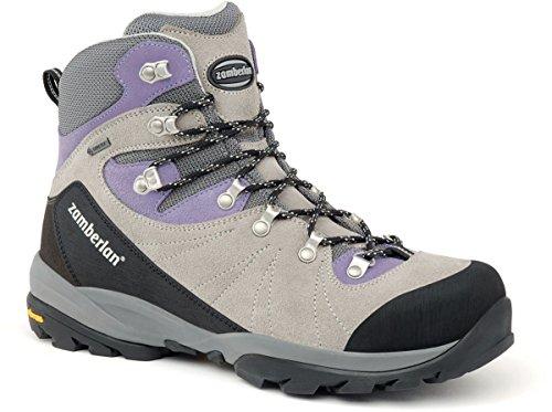 Zamberlan Women's 568 Bora GTX RR Grey/Violet Boot 42.5 (US Women's 10) B (M) by Zamberlan