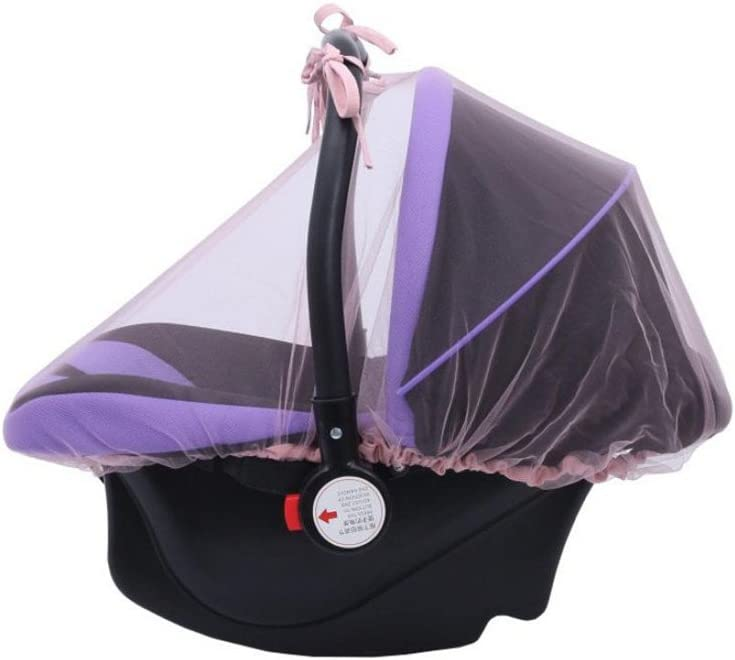 Simayixx Baby Crib Seat Mosquito Net Newborn Curtain Car Seat Insect Netting Canopy Cover