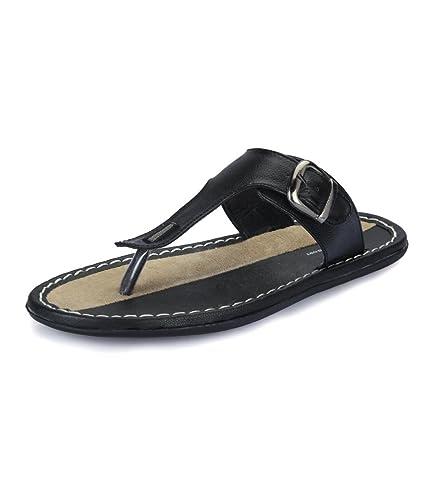 62da51ae8898 Lee Comfort Men s Sandals 5040 Black Synthetic Size 7 UK  Buy Online ...