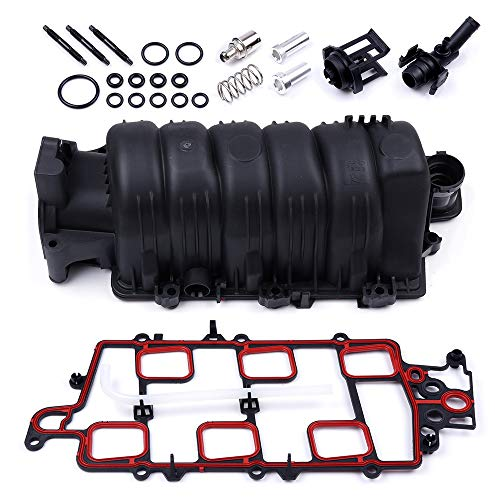 ECCPP Intake Manifold w/Gasket gaskets Bolts and O-Rings Fit for 95-05 Buick Park Avenue Pontiac Bonneville 98-05 Chevrolet Monte Carlo 96-99 Oldsmobile LSS