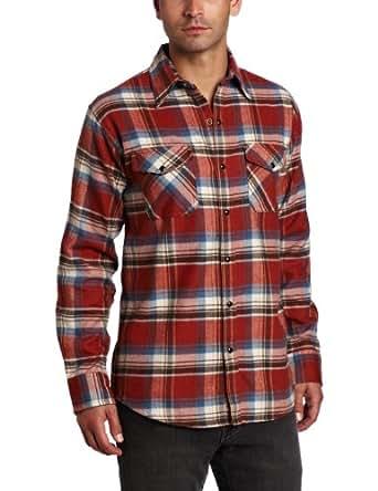 Dakota Grizzly Men's Travis Shirt, Brick, XX-Large