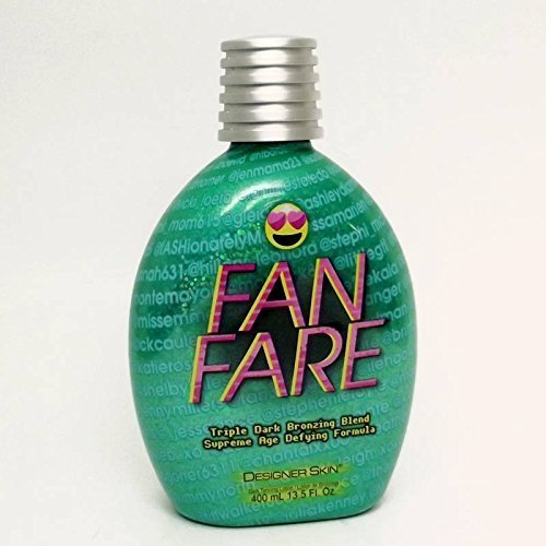 Designer Skin FAN FARE Triple Dark Bronzer - 13.5 oz.
