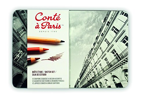 Conté à Paris The Sketch Set with Assorted Sketching Pencils ()