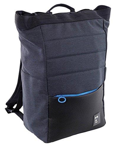 NAVA Borsa Shopper da Lavoro trasformabile in Zaino Colore Blu Azzurro 2b3b2788231