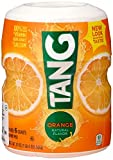 Tang, Orange Powdered Drink Mix (Makes 6 Quarts), 20oz Canister (Pack of 6)
