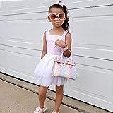 mibasies Kids Purse for Little Girls Rainbow