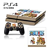 Ci-Yu-Online VINYL SKIN [PS4] One Piece #2 Whole Body VINYL SKIN STICKER DECAL COVER for PS4 Playstation 4 System Console and Controllers - One Piece #2