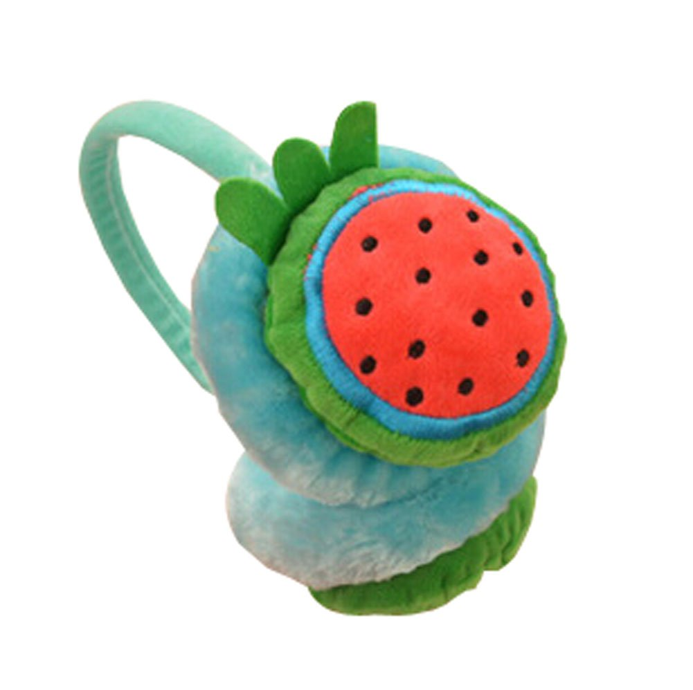 Funny Watermelon Plush Earmuff for Kids PS-CLO2474962011-EMILY01460