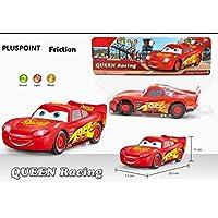 PLUSPOINT A Exclusive Die cast Metal Body Pull Back & Push n Go Set of Cars for Kids (Lightning McQueen,Cruiz Ramirez, Jackson Storm, Maytor -Smokey) Toy Vehicles (Cars3 Set of 6)