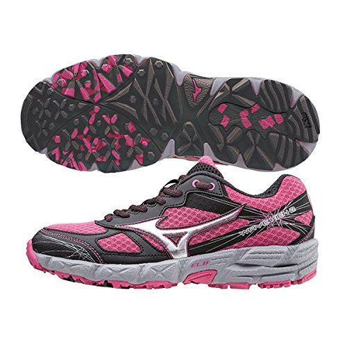 Trial Kien 2 Chaussure AW15 Rose Mizuno Women's Wave Course 5wYgnIqE7