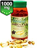 Sacha Inchi 60 soft gel caps 1000mg each Omega 3,6,9 + vitamin E