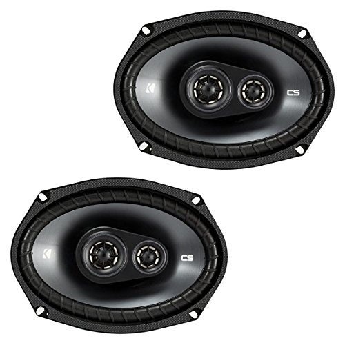 "Kicker 43CSC6934 CSC693 6x9"" 3-Way Speaker Pair"