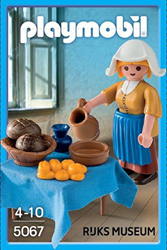 Playmobil #5067 The Milkmaid From Rijks Museum LIMITED EDITION -New-Factory Sealed!