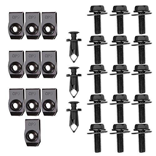 metal bumper clips