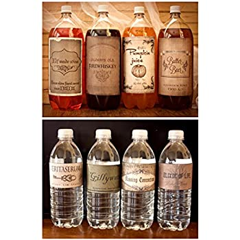 Harry Potter Vintage Inspired 4 2 Litter Drink 8 Water Bottle