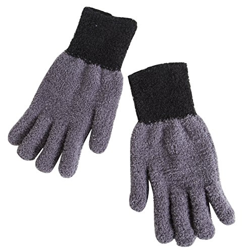Sophisti-Clean Dusting Gloves for Tables, TV's and Lamps, A House Cleaning Tool, Quickly and Easily Clean, Colors May Vary