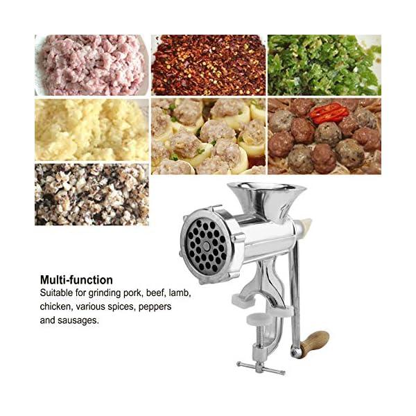 Tritacarne, tritacarne manuale multifunzione, per carne di maiale 4