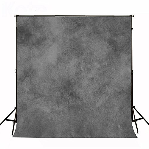 Kate 6.5ft(W) x10ft(H) Texture Portrait Photography Backdrops for Photographers Microfiber Black Abstract Old Master Photo Backdrop