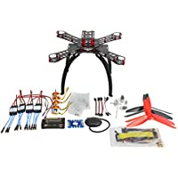 QWinOut DIY RC Racing Drone FPV APM2.8 GPS 310 Fiberglass Frame Unassembly PNP Combo Set (No Remote Controller & Battery)