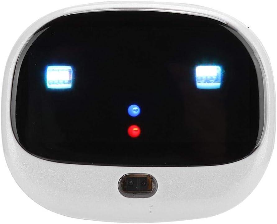 143 Localizador de Mascotas con Seguimiento WiFi 4G con luz LED Inteligente RF-V43 Localizador antip/érdida GPS Soporte de Seguimiento de Mascotas Aplicaci/ón m/óvil