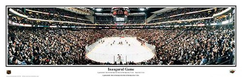 Everlasting Images Minnesota Wild Inaugural Game Black Framed (Minnesota Wild Photograph)
