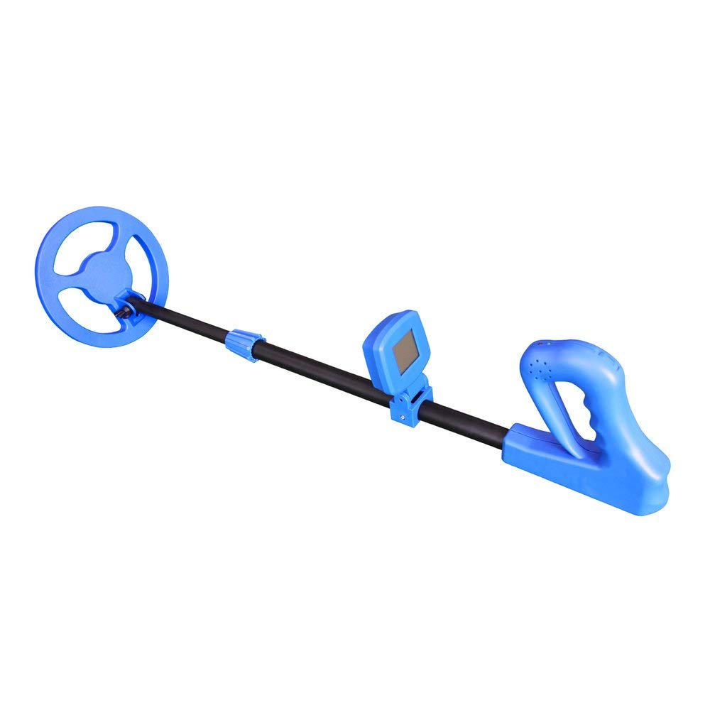 FDBF Metal Detector for Kids Gift Scanning Tool Treasure Hunter Waterproof blu
