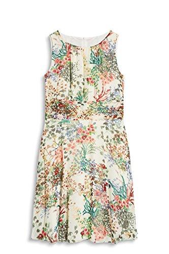 Off ESPRIT 112 3 Collection Damen Weiß Kleid White WrI0rnvR