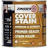 Zinsser - Pintura CoverStain Imprimante / Sellador - 2,5 Litros
