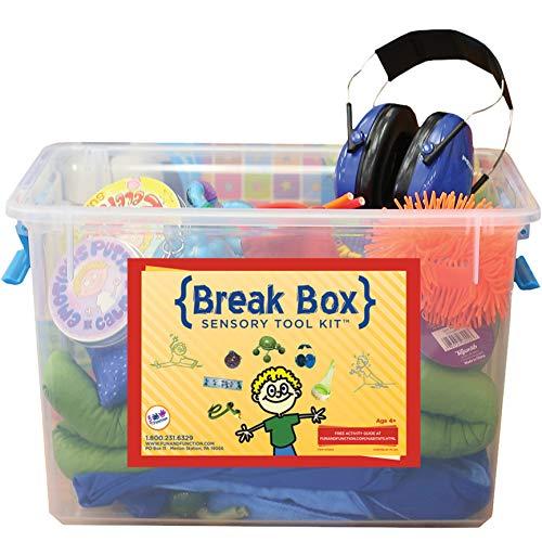 Fun and Function's Classroom Break Box Standard Kit Sensory Activities for Children -