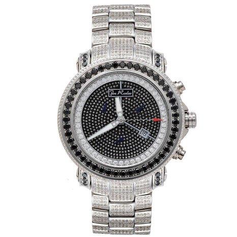 Joe Rodeo Diamond Men's Watch - JUNIOR silver 13.25 ctw