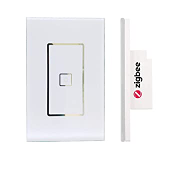 110 240v Smart Zigbee Light Switch Compatible With Echo Plus And Compatible Zigbee Hub Or Bridge To Control Normal Lights Home Automation And Voice Control Amazon Com Industrial Scientific