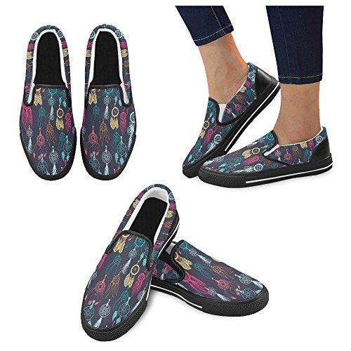 Scarpe Da Donna Slip-on Personalizzate Multicolore6
